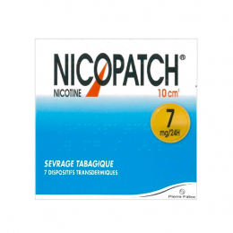 Nicopatch 7mg/24h dispositif transdermique - 7 patchs