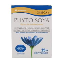 Arkopharma Phyto soya oméga 3 60 gélules