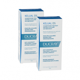 Ducray Kelual DS Shampooing - 2 x 100ml