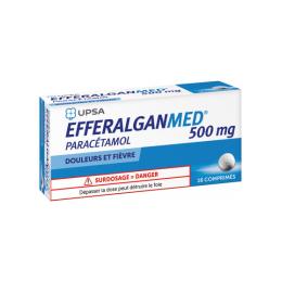 UPSA Efferalgan 500mg - 16 Comprimés
