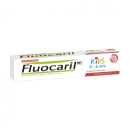 Fluocaril Dentifrice Kids Gel Fraise 50mg - 50ml