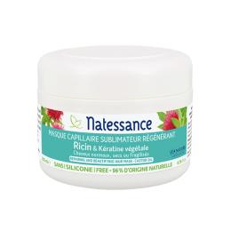 Natessance Masque sublimateur régénérant huile de ricin - 200ml