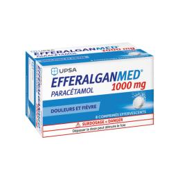 UPSA EfferalganMed 1000mg - 8 Comprimés effervescent