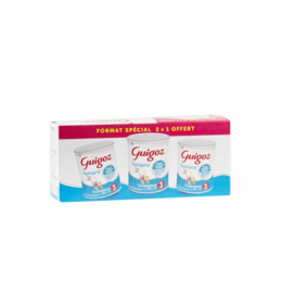 Guigoz Optipro Croissance 3 - Lot de 2+1 offert
