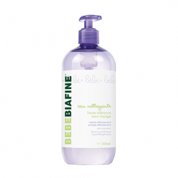 Bebebiafine eau nettoyante sans rinçage - 500ml
