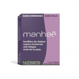 Manhaé pré-ménopause ménopause sans hormones - 30 capsules