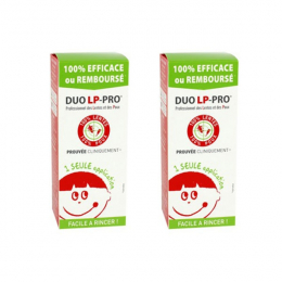 Duo LP pro lotion anti poux - 2 x 150ml