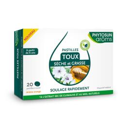 Phytosun Aroms Toux sèche et grasse - 20 pastilles