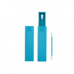 Act'éco Coton-tige silicone réutilisable Bleu