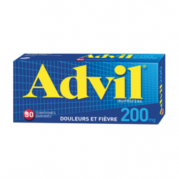 Advil 200mg - 30 comprimés