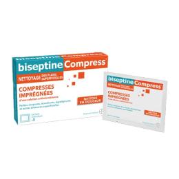 Biseptine Compress - 8 sachets individuels