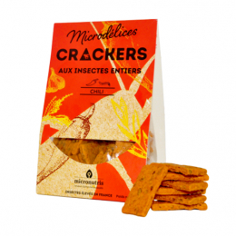 Micronutris Microdélices Crackers Chili - 90g