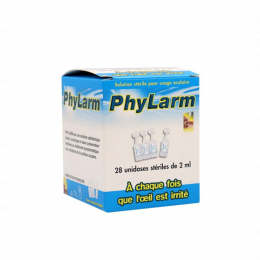 Phylarm - Solution stérile oculaire - x28 unidoses