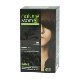 Santé Verte nature & soin coloration permanente blond foncé 6N -129ml