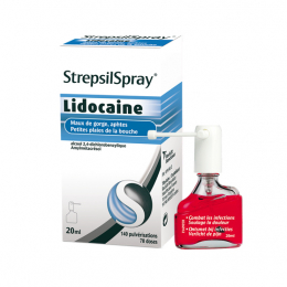 StrepsilSpray Lidocaine collutoire - 20ml