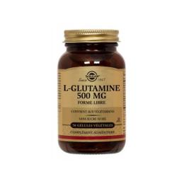Solgar L-Glutamine 500mg - 50 gélules