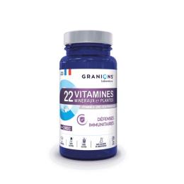 Granions 22 Vitamines Minéraux et Plantes - 90 comprimés
