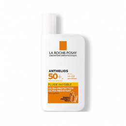 La Roche-Posay Anthelios Crème Solaire en Fluide Invisible Visage SPF50+ Sans Parfum - 50ml