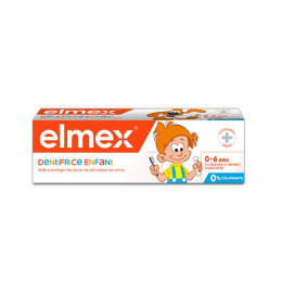Elmex Dentifrice Enfant Boule et Bill - 0-6 ans - 50ml