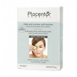 Placentor pads anti-cernes & anti-poches - 6x3g