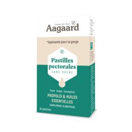 Aagaard Pastilles pectorales - 30 pastilles