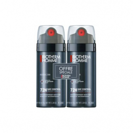 Biotherm Homme Déodorant 72H Day Control Spray - 2 x 150ml