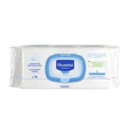 Mustella Lingettes nettoyantes peau normale - 70 lingettes