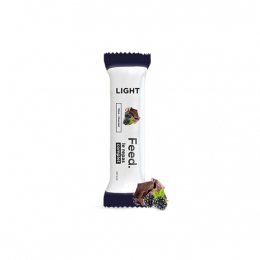 Feed light barre mûre chocolat - 70g