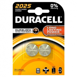 Duracell Electronics 2 Piles Lithium 2025