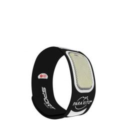 Parakito Bracelet anti-moustique SPORT - noir