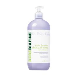 Bebebiafine crème lavante cheveux et corps - 1L