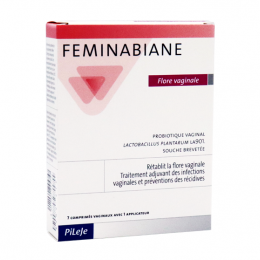 Pileje Feminabiane - 7 comprimés + 1 applicateur