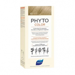 Phyto Phytocolor Kit de coloration permanente 10 Blond extra clair