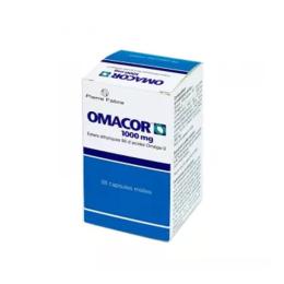 Omacor esthers éthyliques d'acides oméga 3 - 28 capsules