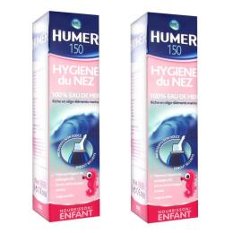 Humer Hygiène Nez Solution Isotonique enfant & nourrisson 150ml x 2