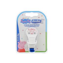 Dodie Attache sucette ruban - Peppa Pig