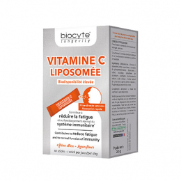 Biocyte Vitamine C liposomée - 10 sticks