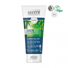 Lavera Men sensitiv Gel douche 3en1 BIO - 200ml