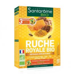 Santarome Ruche royale BIO - 20 ampoules