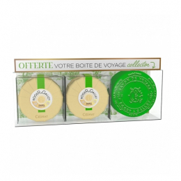 Roger & Gallet coffret 2 savons parfumés cédrat - 2x100g