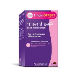 Manhaé pré-ménopause ménopause sans hormones - 90 capsules + 30 OFFERTES