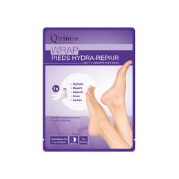Qiriness Body qocoon Wrap pieds hydra-repair Masque pieds doux et lisses - 30g
