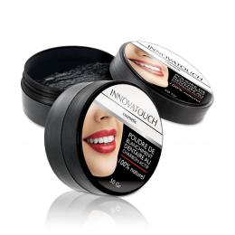 Innovatouch Cosmetic Poudre de blanchiment dentaire au charbon actif - 50g