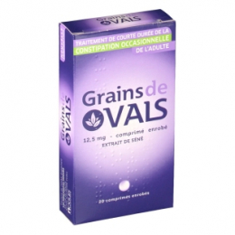 Grains de Vals 12,5mg 20 comprimés