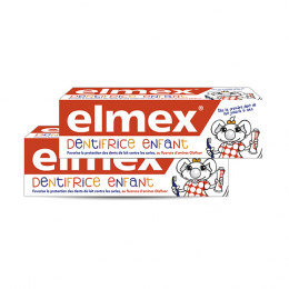 Elmex Dentifrice Enfant - 2x50ml