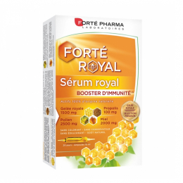 Forté Pharma Forté Royal sérum royal Booster d'immunité - 20 ampoules