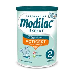 Modilac Expert actigest  lait 2ème âge - 800g