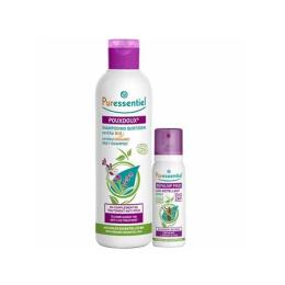 Puressentiel Anti-poux shampooing quotidien bio 200ml + répulsif spray 75ml