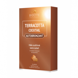 Biocyte Terracotta cocktail autobronzant - 30 gélules