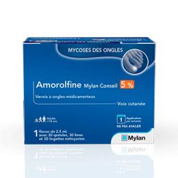 Mylan Amorolfine 5% - 2,5ml
